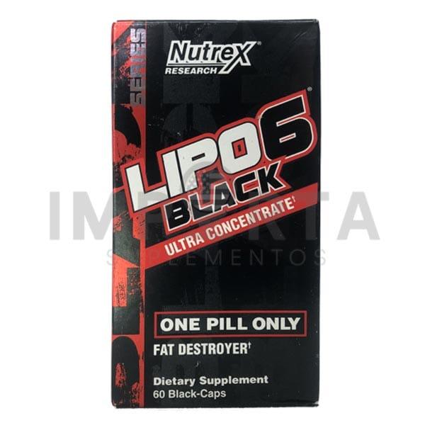 Lipo 6 Black Ultra Concentrado IMPORTADO (60 Caps) Nutrex
