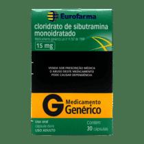 Cloridrato de Sibutramina - EuroFarma